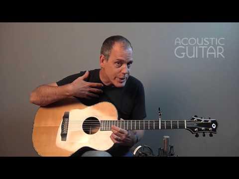 Singer-Songwriter David Wilcox Plays His 1996 Olson SJ