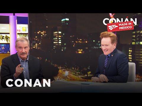 Full #ConanMexico Interview With Vicente Fox