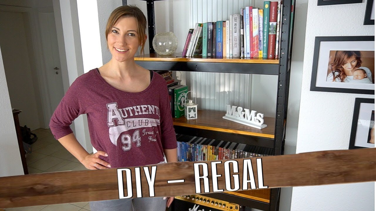 Bücherregal Industrial Diy Industrial Regal Selbstistdiefrau