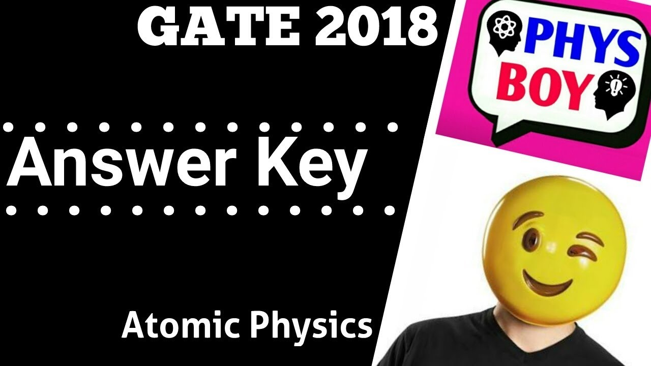 Video-3 Ground State of Oxyzen | GATE 2018 Physics ...