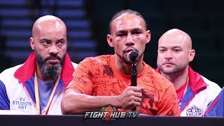 KEITH THURMAN GIVES PACQUIAO PROPS