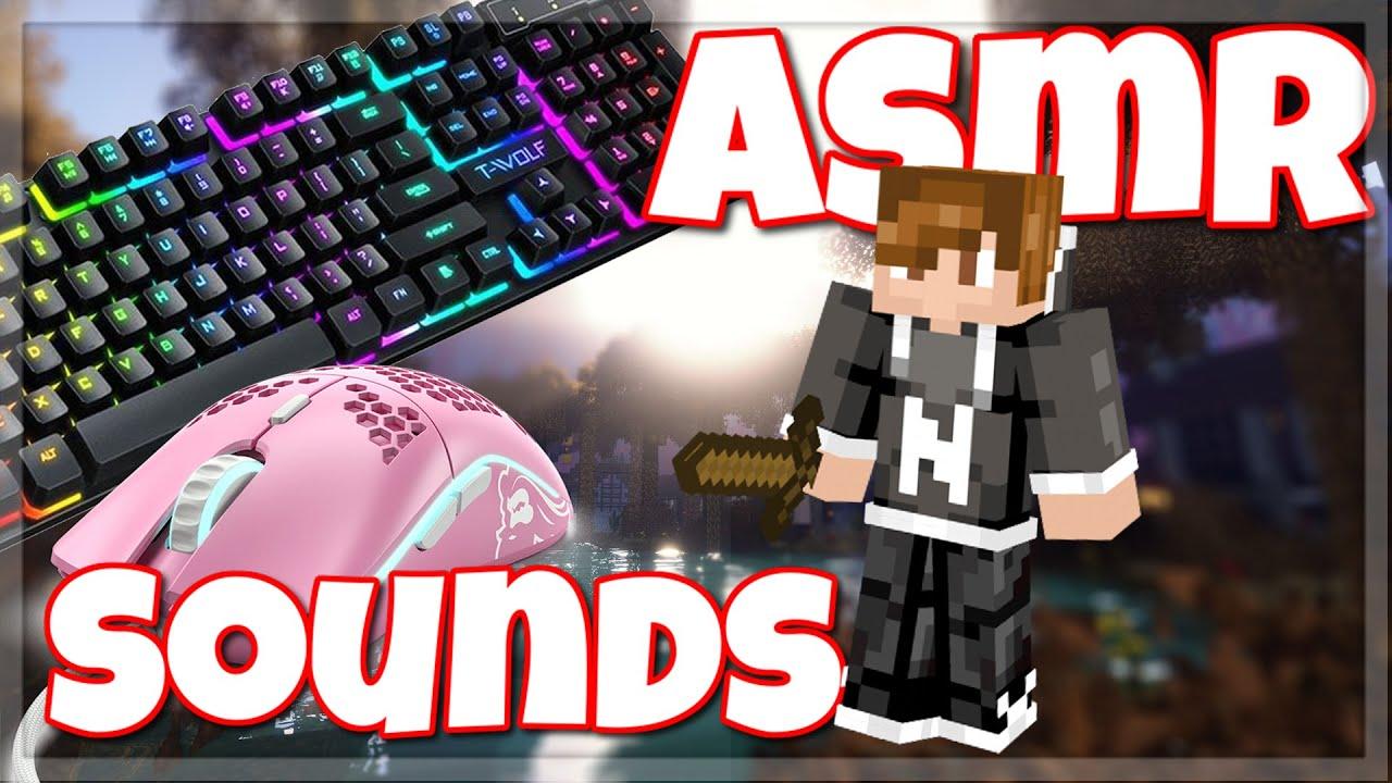 Keyboard + Mouse Sounds ASMR | Hypixel Bedwars 4k