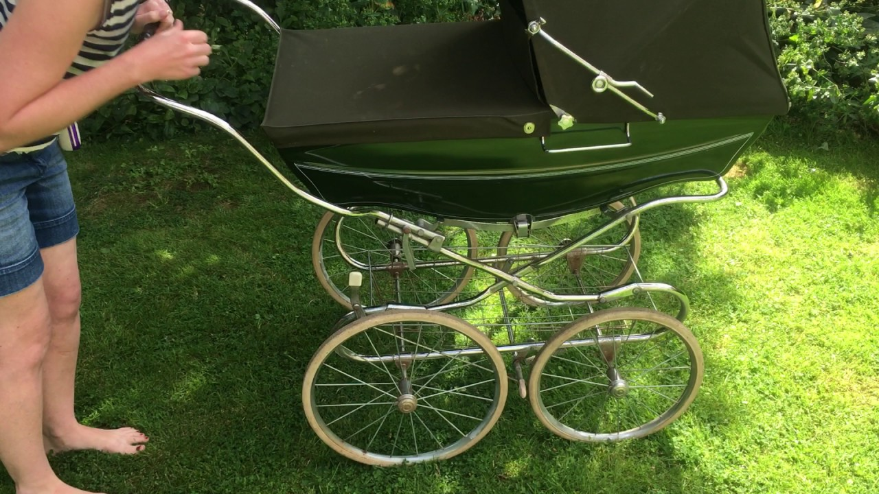 Vintage Silver Cross Coach Built Pram How To Use Made In