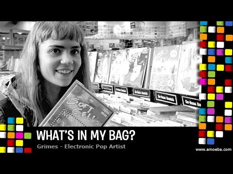 Grimes - What's In My Bag?