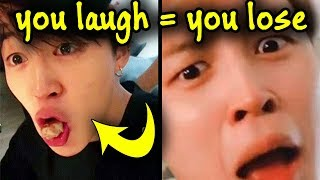 "BTS ""You Laugh = You Lose"" Challenge 
