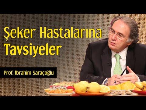 Şeker Hastalarına Tavsiyeler | Prof. İbrahim Saraçoğlu