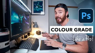 My NEW Secret Method for COLOR GRADING in Photoshop 2021