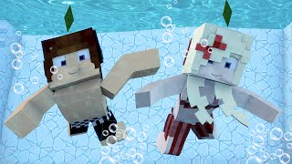 Minecraft : A MELHOR PISCINA DO MINECRAFT !! - The Sims Craft Ep.237