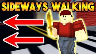SIDEWAYS WALKING ONLY CHALLENGE IN ARSENAL! (ROBLOX)