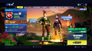 CBNJ-Fortnite live stream-Squad-The getaway squad!new link in riotpoints. Bg