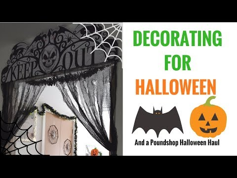 POUNDLAND HALLOWEEN WALKTHROUGH - HAUL AND DECORATING 🎃