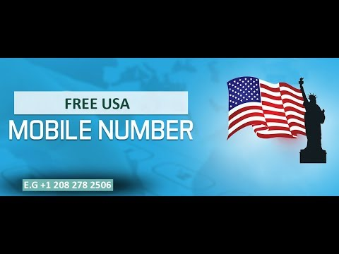 How to Get Free USA Phone Number for Lifetime || No Credit Card Required ||  Unlimited Free Numbers