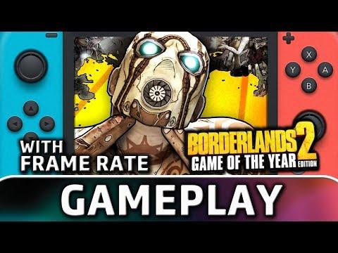 Borderlands 2   Nintendo Switch Gameplay & Frame Rate