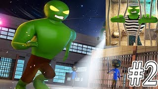 Monster Stickman Prison Escape Android Gameplay #2 - I Escaped The Jail