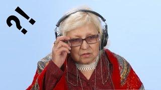 Бабушки смотрят клип «В Питере — пить» группы Ленинград (реакция)