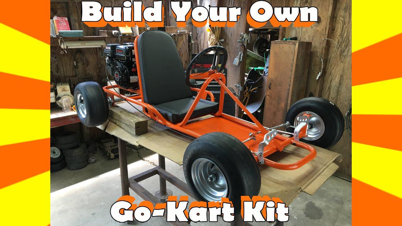 Go kart kit build orange krate clone youtube solutioingenieria Choice Image