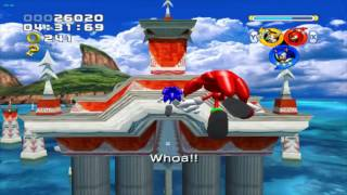 Let's Play Sonic Heroes Part 1: Rolling Through The Ocean