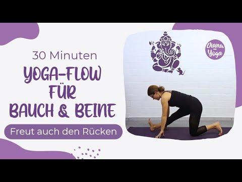 Yoga für Bauch & Beine 30 Minuten