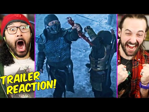 MORTAL KOMBAT - REACTION!! (Red Band | Breakdown | Sub-Zero Vs Scorpion | 2021) - The Reel Rejects