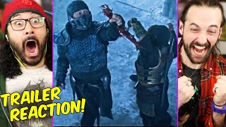 MORTAL KOMBAT - TRAILER REACTION!! (Red Band | Breakdown | Sub-Zero Vs Scorpion | 2021)