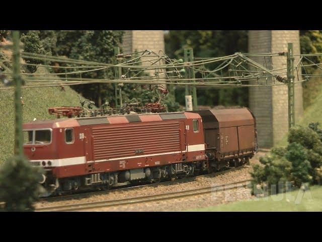 Modelleisenbahn Spur H0 Anlage Bad Clausthal vom MEV Friedrich List aus Leipzig