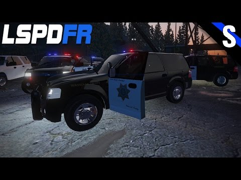 GTA V LSPDFR #150 Bernalillo County Sheriff Ford Expedition Special Service Vehicle