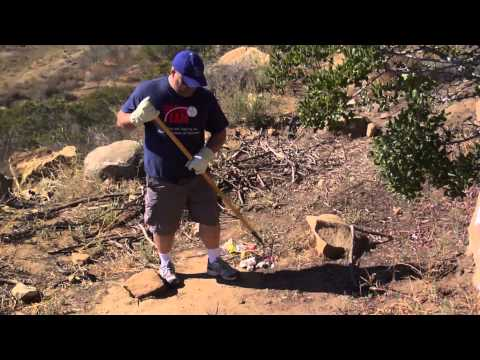 Major Leaguers & Action Team Teens Canyon Clean Up