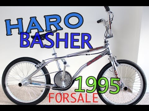Haro Basher - BMX Bike - 1995 - Old/Mid School - FOR SALE