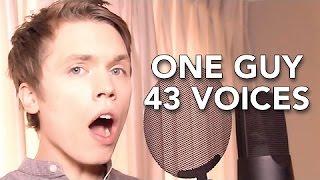Imitando 43 vozes impressionante