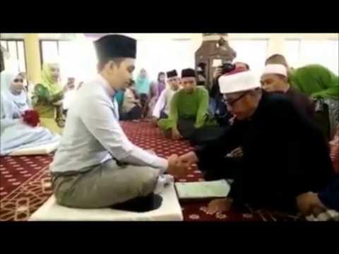 Akad nikah Mohd Najib