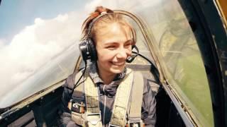 Высший пилотаж на ЯК-52(Подарок для моей дочки Ксении на её день рождения. ) По вопросам полетов, съемок, изготовления клипов итд..., 2016-06-07T23:43:07.000Z)