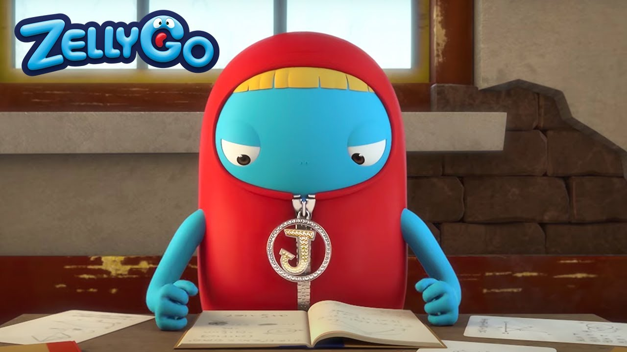 ZellyGo - Who's the genius? | Funny Cartoons for Children