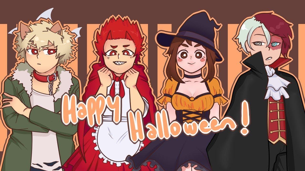 【Happy Halloween!】| Meme | BNHA |