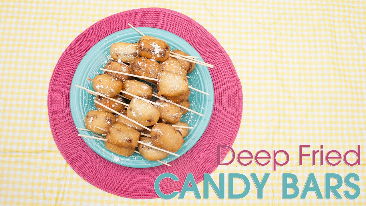 how to make deep fried candy bars
