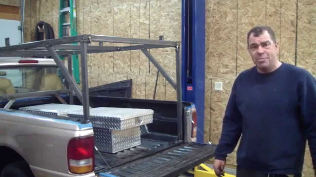 Truck Cargo Rack Build With Jd Youtube