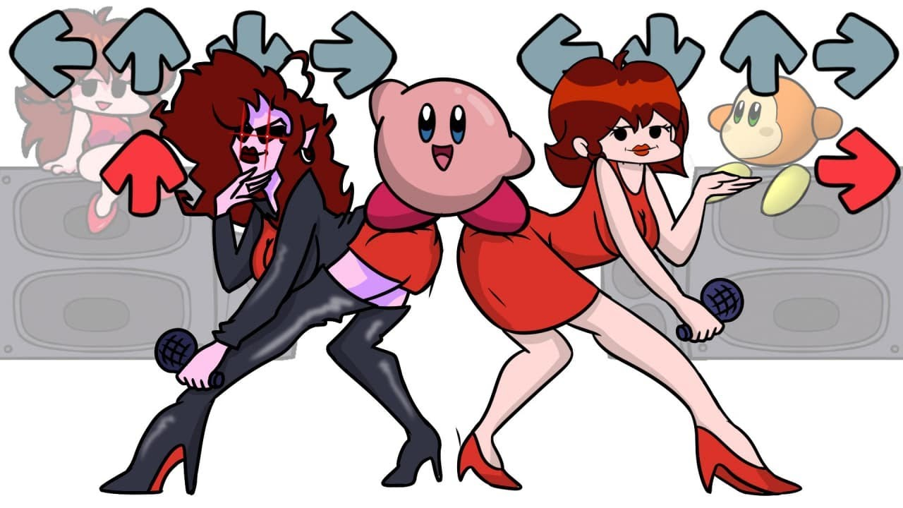 Download FNF Spooky Battle with Kirby Characters | Friday Night Funkin' Animation