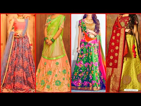 Indian Style party Wear Lehnga choli Designs/Designer Lehnga set 2020