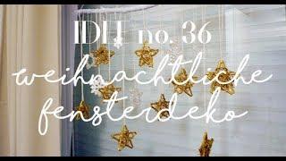 Weihnachtsdeko für Fenster einfach selber machen / Idee no. 36