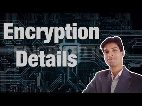 Encryption Algorithm Details | Converting Original data into unreadable format