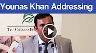 Younis Khan Address at Citizen foundation