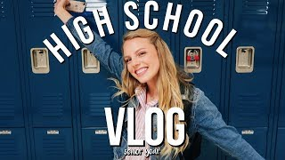 a day in my life at high school vlog | Jaclyn Brooke