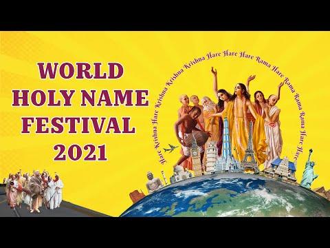 ISKCON Kirtan I World Holy Name Festival 2021 - Day 2