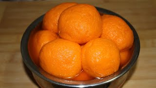 কমলা  ভোগ মিষ্টি/Komla Vog Misti/Orange Flavoured Misti/Raj vog