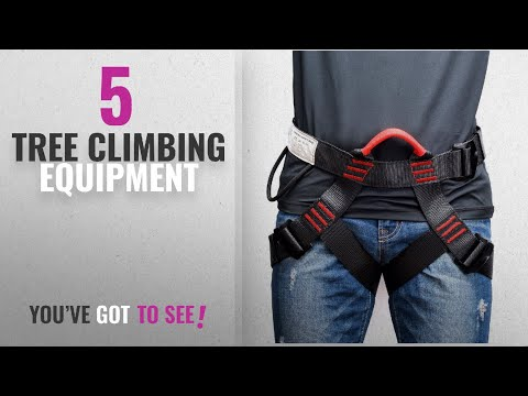 Top 10 Tree Climbing Equipment [2018]: Thicken Climbing Harness, Weanas Protect Waist Safety