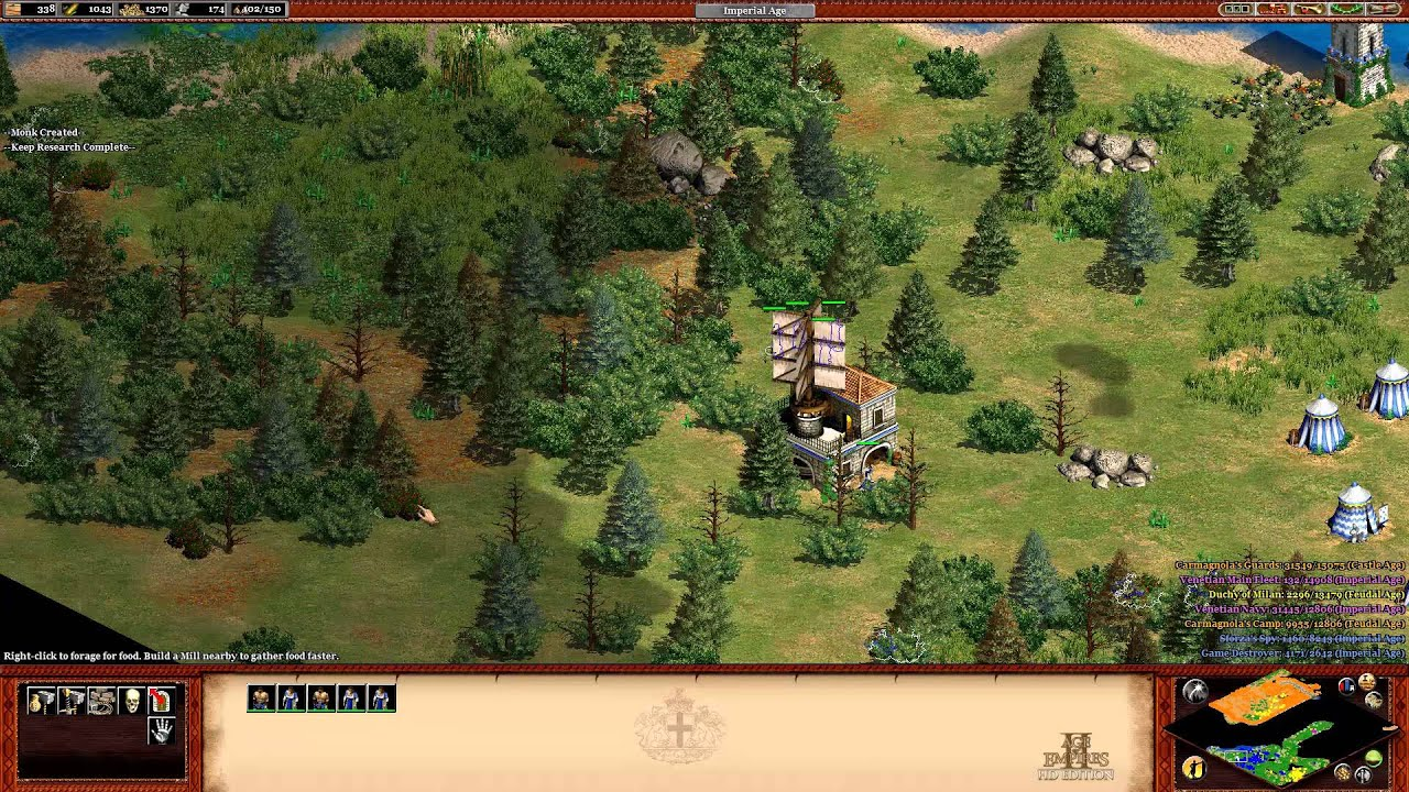 age of empires 2 hd the forgotten sforza the hand of a daughter