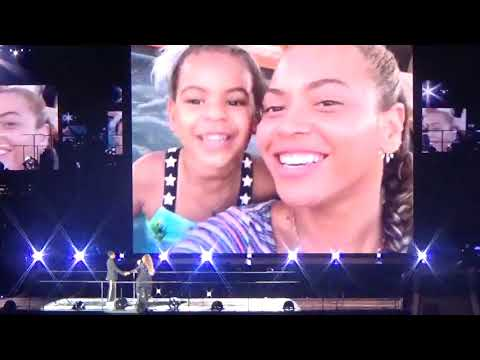 Beyonce & Jay Z  Young Forever  Outro  ON THE RUN 2 Tour   In Manchester 130618