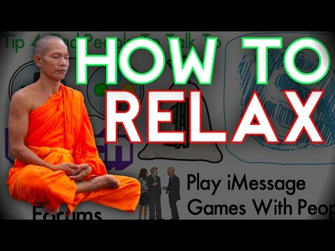 5 Tips: HOW TO RELAX | How to Relieve Stress, Get Rid of Stress, and De-Stress | Kreative Animations