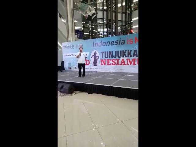 Penutupan KONI JAKARTA FAIR 2018 di FX Sudirman