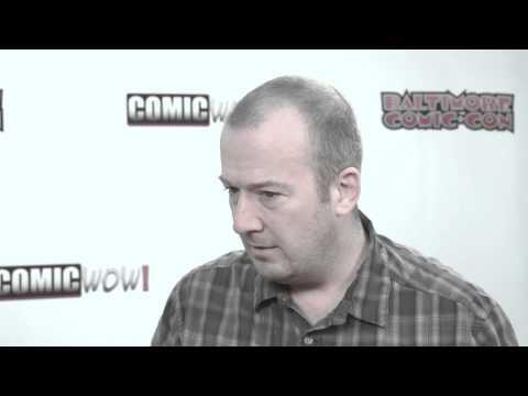 BCC14 Garth Ennis ComicWow! Interview Baltimore Comic Con 2014