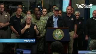 الإعصار ماثيو يضرب ولاية فلوريدا ويتجه إلى ولايات أخرى في الساحل الشرقي